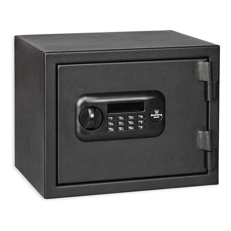 """Bulldog Personal Digital Fire Safe 12""""x15""""x12"""" Black"""