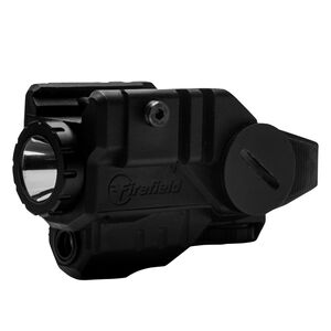 Firefield BattleTek Weapon Light With Green Laser CR2 Battery Picatinny Mount Polymer Black