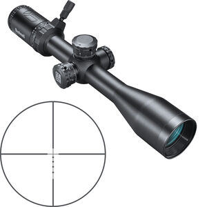 "Bushnell AR Optics 4.5-18x40 Riflescope Drop Zone 6.5 SFP Reticle 1"" Tube Side Parallax Adjustment Second Focal Plane Black"