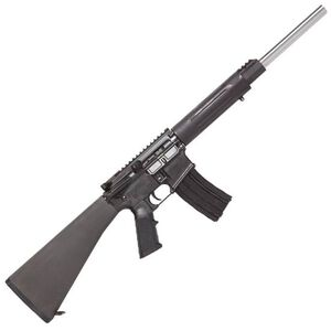 """DPMS Panther Arms Sweet 16 .223 Rem 16"""" Stainless Steel Bull Barrel Aluminum Free Float Tube A2 Fixed Stock Black RFA2-B16"""