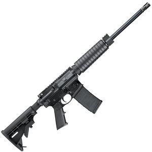 "S&W M&P15 Sport II Optics Rear 5.56 NATO AR-15 Semi-Auto Rifle 16"" Barrel, 30 Rounds, Collapsible Stock, Railed Gas Block, Polymer Hand Guard, Matte Black"
