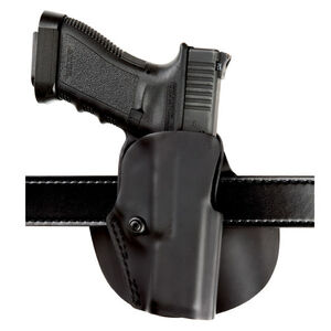 Safariland Model 5188 Open Top Paddle & Belt Loop Combo Holster GLOCK 17/22/31 with Tactical Light Right Hand SafariLaminate Black 5188-832-411
