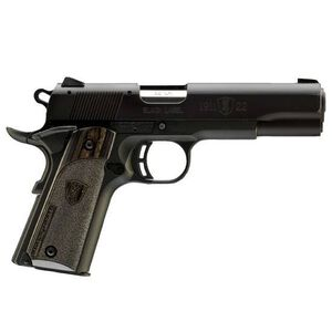 "Browning 1911-22 Semi Auto Handgun .22 Long Rifle 3.625"" Barrel 10 Rounds Composite Frame Wooden Grips Black 051815490"