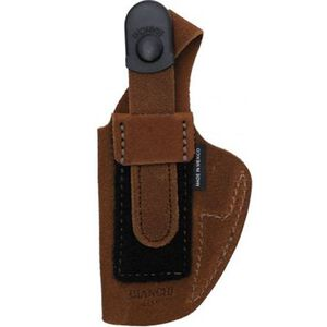 """Bianchi #6D ATB Inside the Waistband Holster Colt Python 4"""" and Ruger GP100 4"""" Barrel Right Hand Suede Tan"""