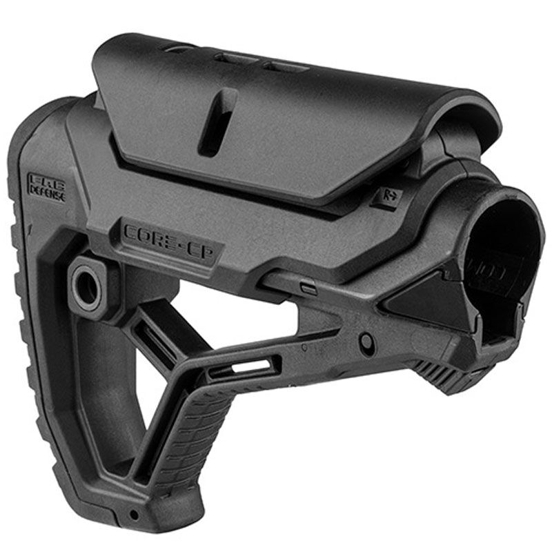 FAB Defense GL-Core CP Carbine Buttstock Mil-Spec/Commercial Diameter Black