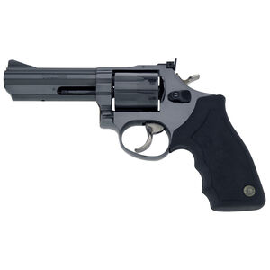 """Taurus Model 66 Double Action Revolver .357 Magnum 4"""" Barrel 7 Rounds Fixed Front/Adjustable Rear Sights Soft Rubber Grip Matte Black Finish"""