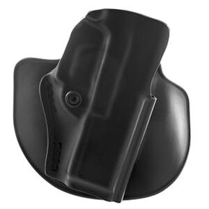 Safariland Model 5198 Paddle/Belt Loop Outside the Waistband Holster Right Hand Draw S&W M&P Shield 9/40 Models SafariLaminate Construction STX Plain Black