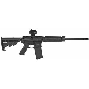"S&W M&P15 Sport II AR-15 .2233/5.56 NATO Semi Auto Rifle 16"" Barrel 30 Rounds With Crimson Trace CTS-103 Red Dot Sight Black 12936"