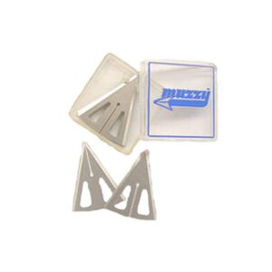"Muzzy Replacement Blades for 3 Blade Broadhead 100 Grain 1.19"" Cutting Diameter 18 Pack 320"