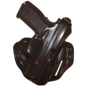 DeSantis Thumb Break Scabbard Belt Holster Springfield XD 9/40 Right Hand Leather Black 001BA88Z0