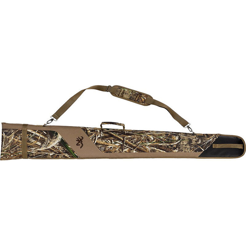 "Browning Flexible Shotgun Case 52"" Polyester Waterfowl Floater Mossy Oak Shadow Grass Blades Camo."