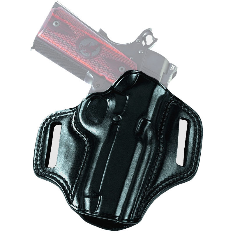 """Galco Combat Master Springfield XD/XD(M) 4"""" Belt Holster Right Hand Leather Black CM440B"""
