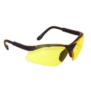 Radians Revelation Glasses Amber Lenses Black Frame RV0140CS