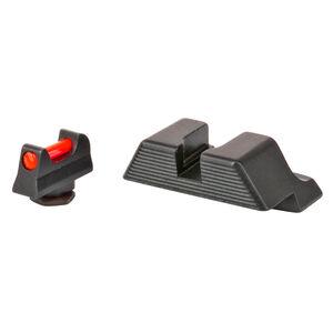 Trijicon Fiber Sight Set for Glock 9mm/.40