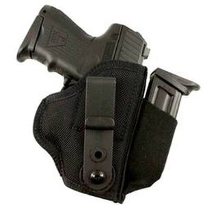 DeSantis Gunhide Tuck-This II Tuckable Inside the Waistband Holster Medium Frame Autos Ambidextrous Nylon Black M24BJMAZ0