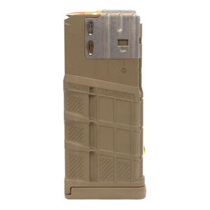 Lancer L7 Advanced Warfighter Magazine .308 Win/7.62 NATO 25 Rounds Polymer Flat Dark Earth L725FDE