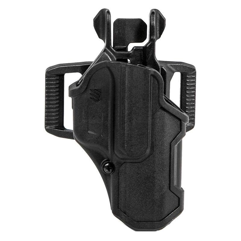BLACKHAWK! T-Series L2C Overt OWB Sig Sauer P320 Right Handed Holster Polymer Black