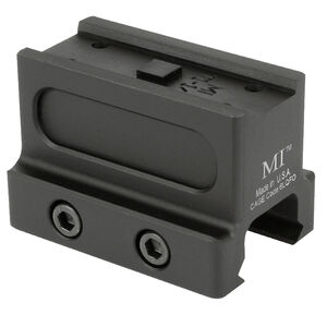 Midwest Industries Aimpoint T-1 Lower 1/3 Co-Witness Mount 6061-T6 Aluminum Matte Black