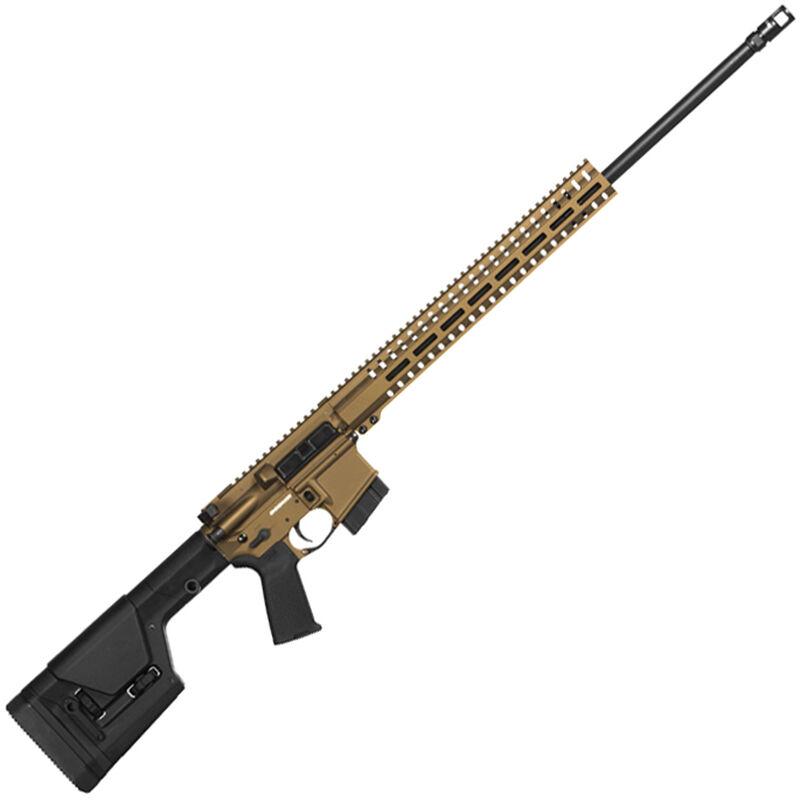 "CMMG Endeavor 300 MK4 .224 Valkyrie AR-15 Semi Auto Rifle 24"" Barrel 10 Rounds RML15 M-LOK Handguard Magpul PRS Fixed Stock Burnt Bronze Finish"