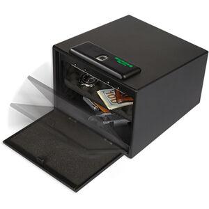 Bulldog Biometric Fingerprint Pistol Vault Magnum with Shelf Black