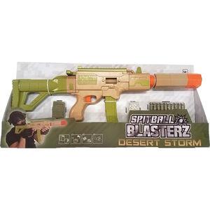 Spitball Blasterz Tissue Paper Blaster Desert Storm Kit Ages 14 and Up