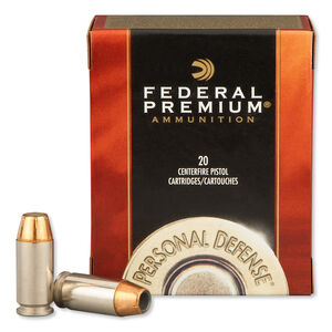 Federal .40 S&W Ammunition 20 Rounds Hydra-Shok JHP 180 Grains 40HS1