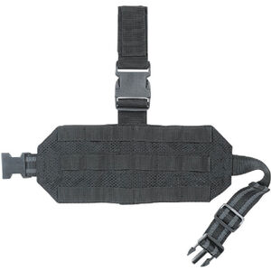 Voodoo Tactical MOLLE Mesh Drop Leg Platform Black