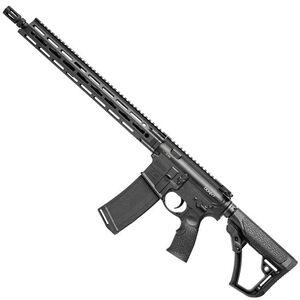 "Daniel Defense DDM4v7 AR-15 Semi Automatic Rifle 5.56 NATO 16"" Barrel 32 Rounds DD MFR 15"" Free Float M-LOK Hand Guard Collapsible Stock Matte Black"