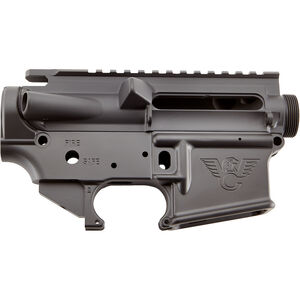 Wilson Combat AR-15 Matched Upper/Lower Receiver Set Aluminum Black Armor-Tuff TR-LOWUPP