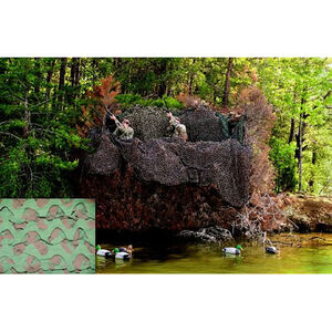 "CamoSystems Premium Series Ultra-lite Camo Net 7'10"" x 9'10"" Green Brown"