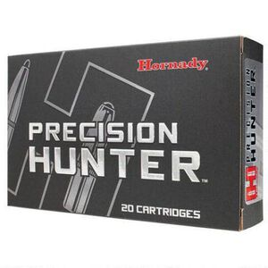 Hornady Precision Hunter .270 Win Ammunition 20 Rounds 145 Grain ELD-X Polymer Tip Boat Tail 2970 fps