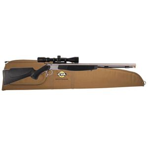 "CVA Optima V2 Break Action Single Shot Black Powder Rifle .50 Caliber 26"" Barrel Konus Pro 3-9x40mm Scope Black Synthetic Stock Stainless Finish PR2020SSC"