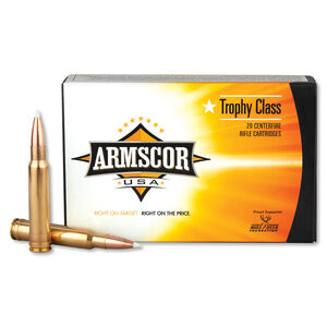 Armscor USA .338 Win Mag Ammunition 20 Rounds PT 225 Grain