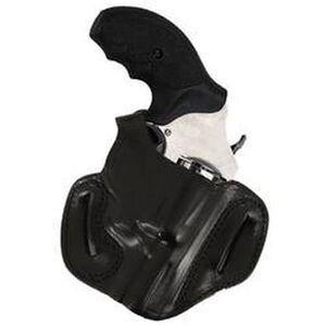 DeSantis 085 S&W J-Frame Thumb Break Mini Slide Belt Holster Right Hand Leather Black