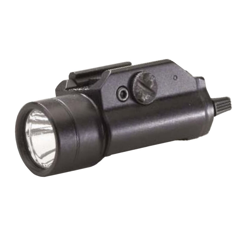 Streamlight TLR-1 IR LED Tactical Weaponlight 125mW 2x CR123A Lithium Batteries Toggle Switch Picatinny Mount Aluminum Body Black 69150