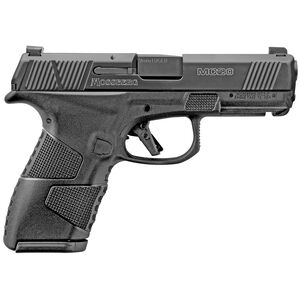 "Mossberg MC1c 9mm Luger Semi Auto Pistol 4"" Barrel 10 Rounds Night Sights No Manual Safety Polymer Frame Black"