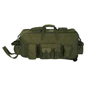 Voodoo Tactical Mojo Bag on Wheels Nylon OD Green