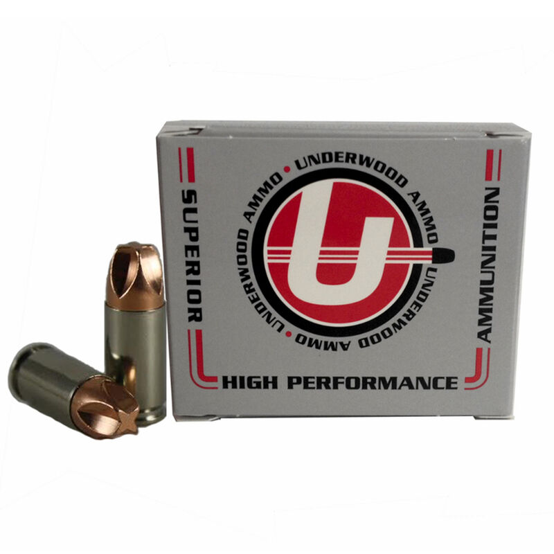 Underwood 9mm +P+ 20 Rounds Xtreme Defender 90 Grains 817-20