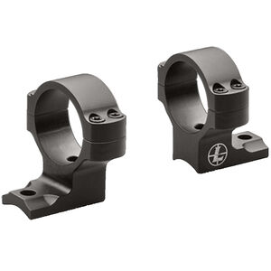 """Leupold BackCountry Browning AB3 Direct Mount Rings 1"""" Tube Diameter High Height 7075-T6 Aluminum Hard Coat Anodized Finish Matte Black"""