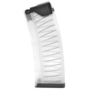 Lancer L5AWM 5.56mm 30 Round Translucent Clear Magazine 999-000-2320-31