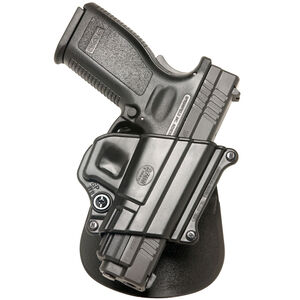 Fobus Compact Paddle Holster H&K/Ruger/Springfield/Taurus Right Hand Polymer Black SP11B