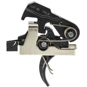 Geissele Automatics Super MCX SSA Trigger Geissele Curved Trigger Shoe Two Stage 4.5lbs Non-Adjustable 05-657