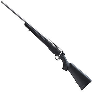 """Tikka T3x Lite Stainless Bolt Action Rifle 6.5 Creedmoor 24"""" Stainless Steel Barrel 3 Rounds Detachable Box Magazine Black Synthetic Stock Stainless Steel Finish"""