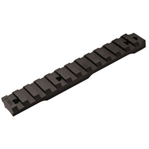 Ruger Precision Rimfire Picatinny Scope Base Rail 0 MOA Elevation Bias Billet Aluminum Hard Coat Anodized Matte Black