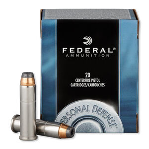 Federal Personal Defense .357 Magnum Ammunition 20 Rounds JHP 158 Grains C357E