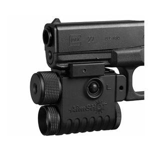 AimShot Pistol Green Laser Sight with Integraded LED Flashlight