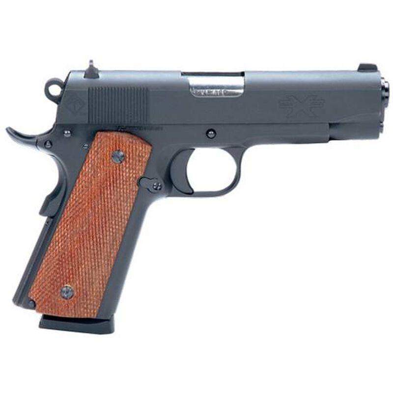 "ATI FX1911 GI Semi Auto Pistol 9mm 4.25"" Barrel 9 Rounds Wood Grips Matte Black"