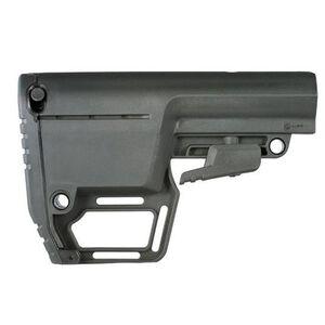 Mission First Tactical AR-15 Battlelink Utility Stock 6 Position Mil Spec Polymer Black BUSMIL