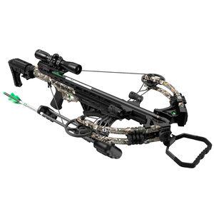 Centerpoint Pulse 425 Crossbow Kit Illuminated 4x32 Scope Folding Stock Camo