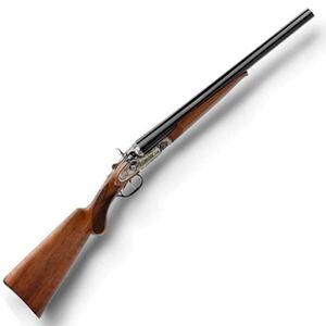 "Taylor's & Co. Pedersoli Side by Side Shotgun 12 Gauge 20"" Barrel 2 Rounds Walnut Stock Blued S707.12NS"
